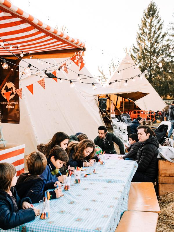Chiristmas Market llívia taller de galletas