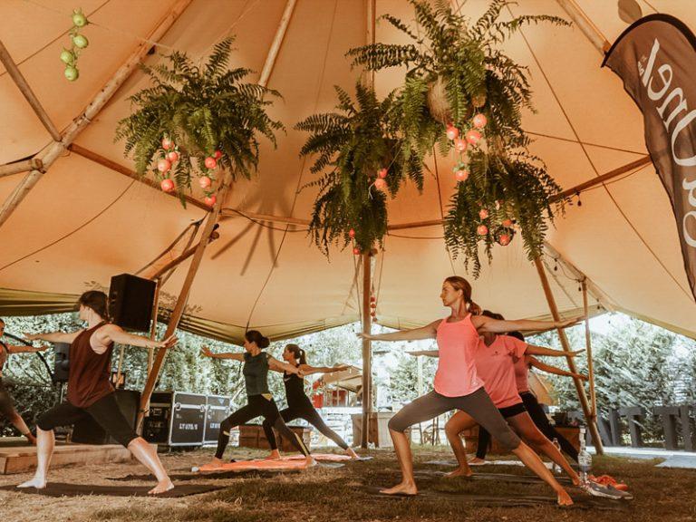 Primera edición Tipis Cerdanya Yoga one